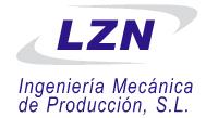 logotipo de LZN INGENIERIA MECANICA DE PRODUCCION SL